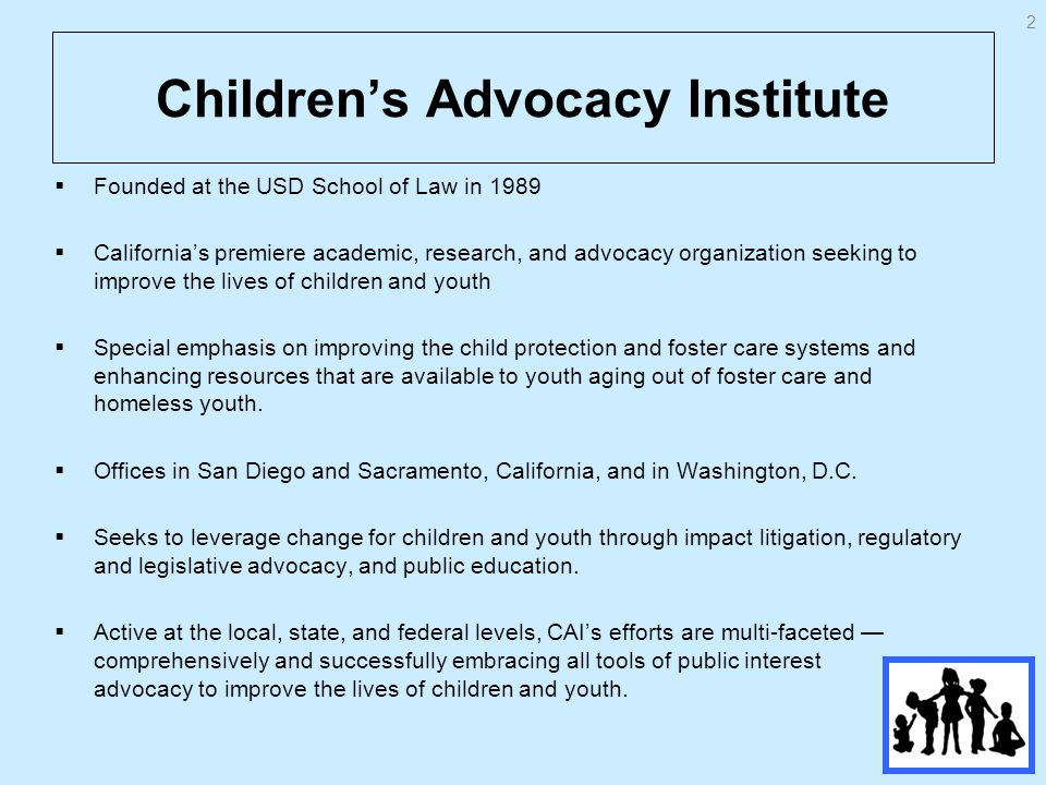 Examples of Child Welfare Issues in Need of Affirmative US DHHS Oversight Secrecy and child abuse deaths/near deaths Denial of attorney representation/GALs for children Direct fleecing of foster children by the states –Federal law and foster children adult self-sufficiency 53