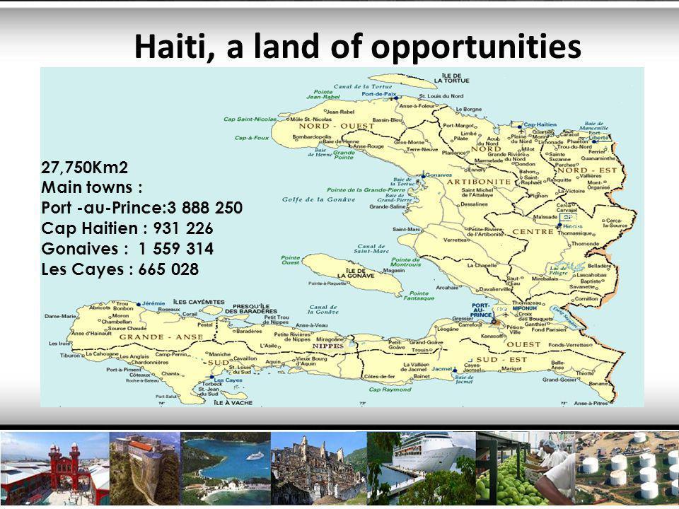8 Reasons to choose Haiti 7.