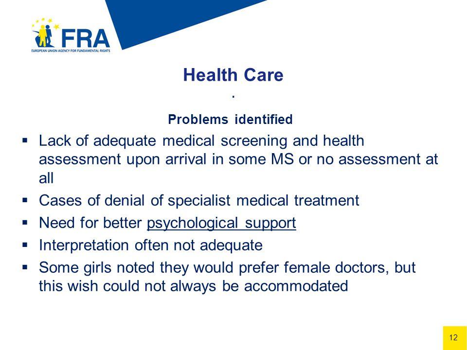12 Health Care.