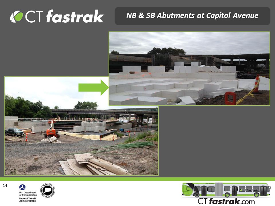 14 NB & SB Abutments at Capitol Avenue