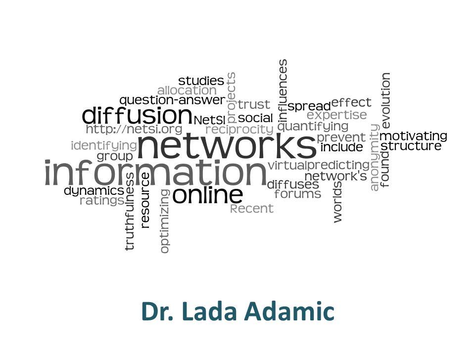 Dr. Lada Adamic