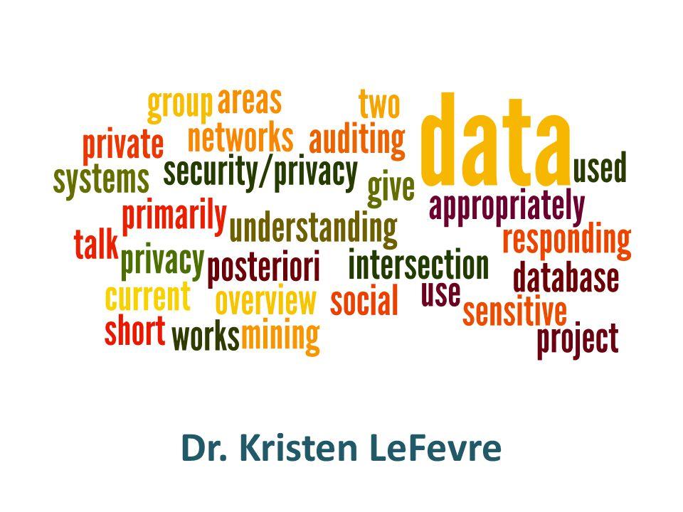 Dr. Kristen LeFevre
