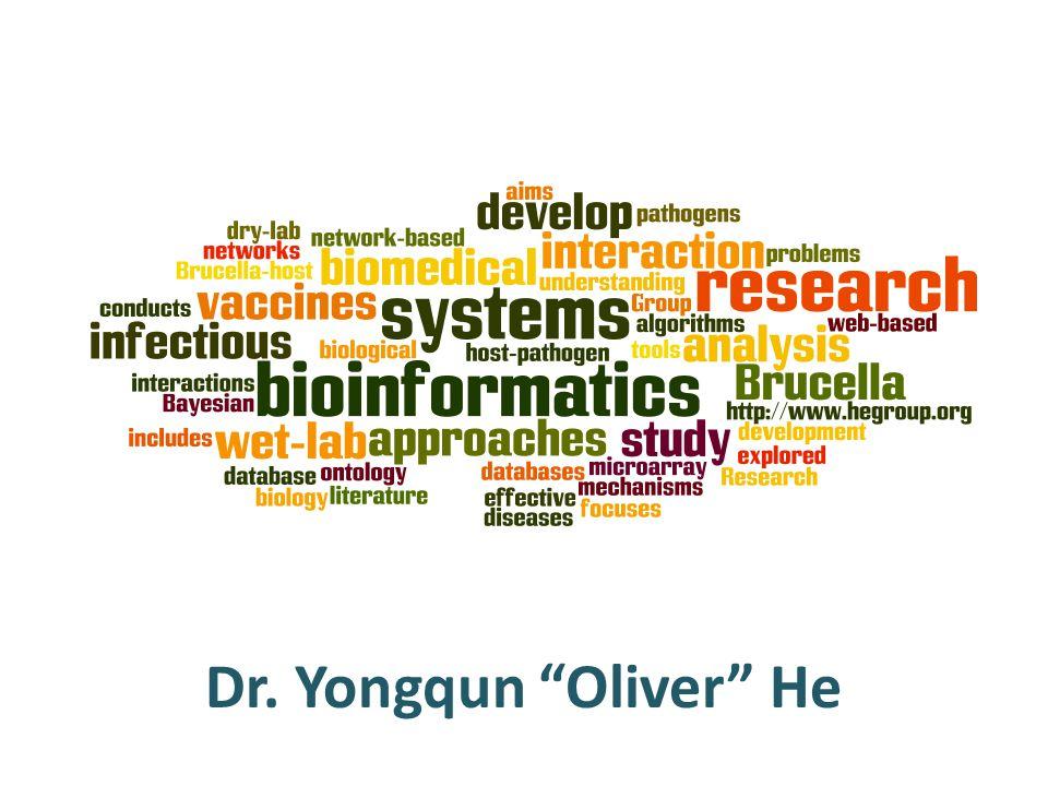 Dr. Yongqun Oliver He