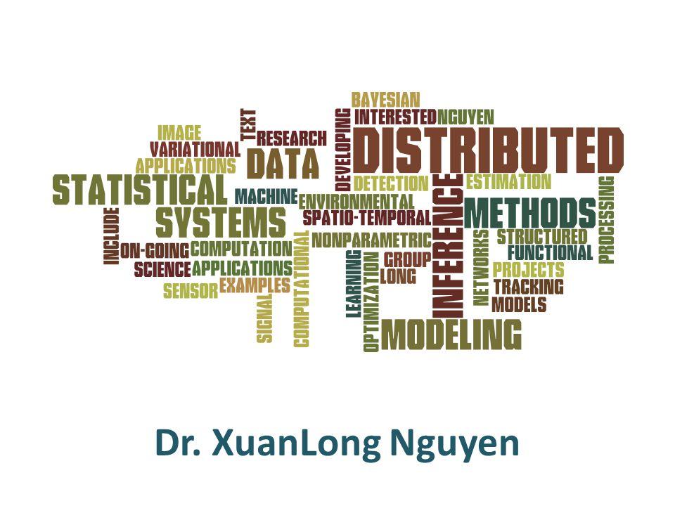 Dr. XuanLong Nguyen