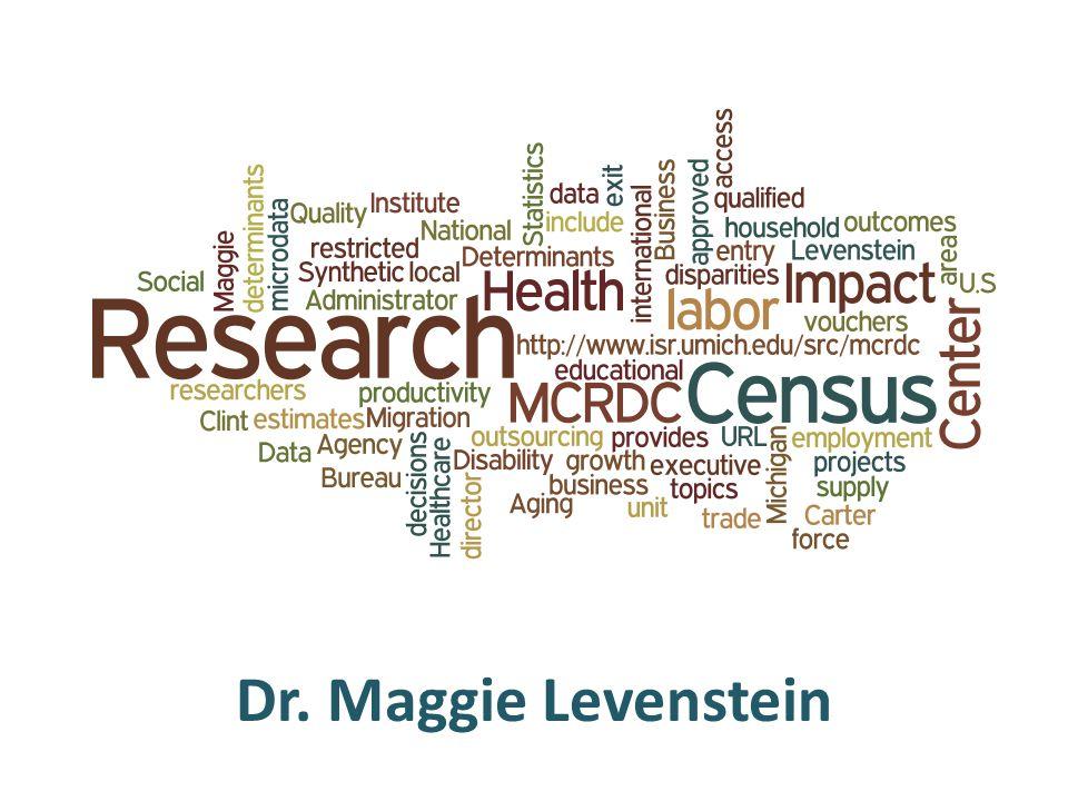Dr. Maggie Levenstein