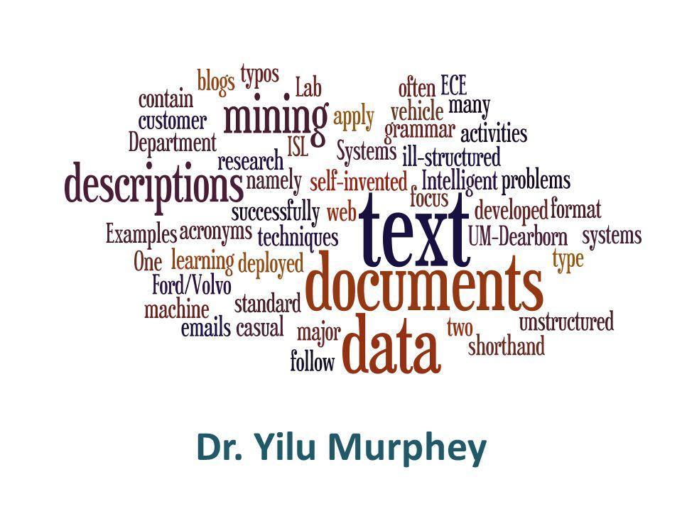 Dr. Yilu Murphey
