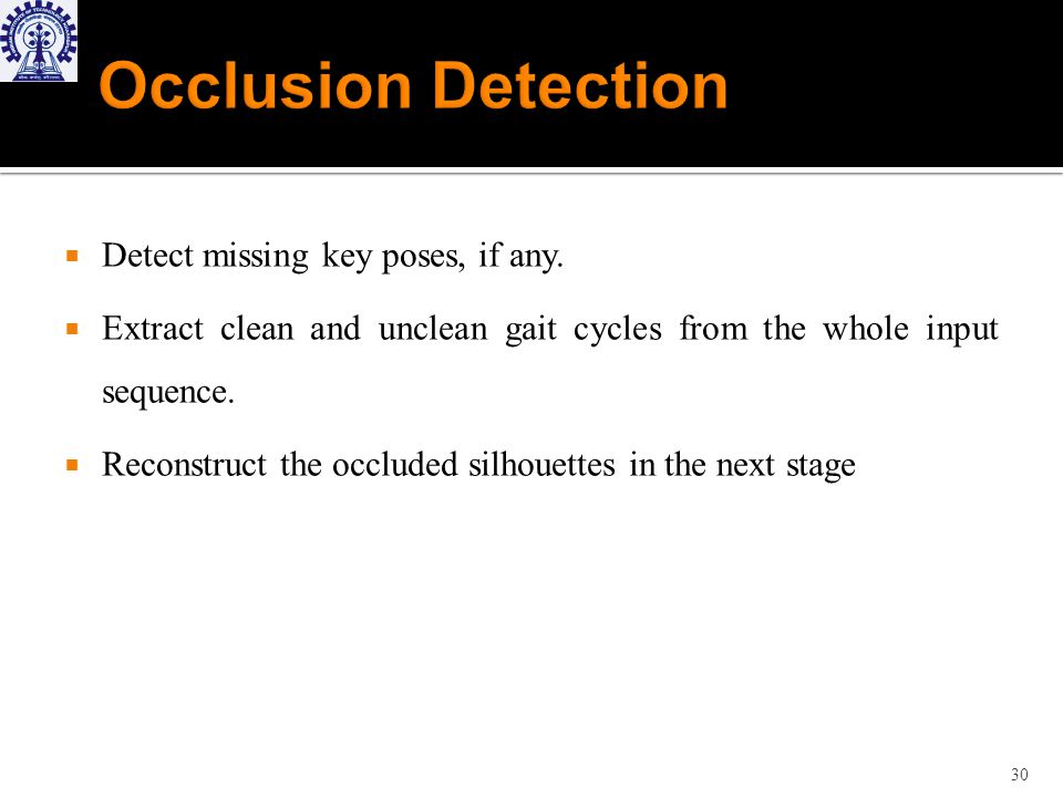 Detect missing key poses, if any.