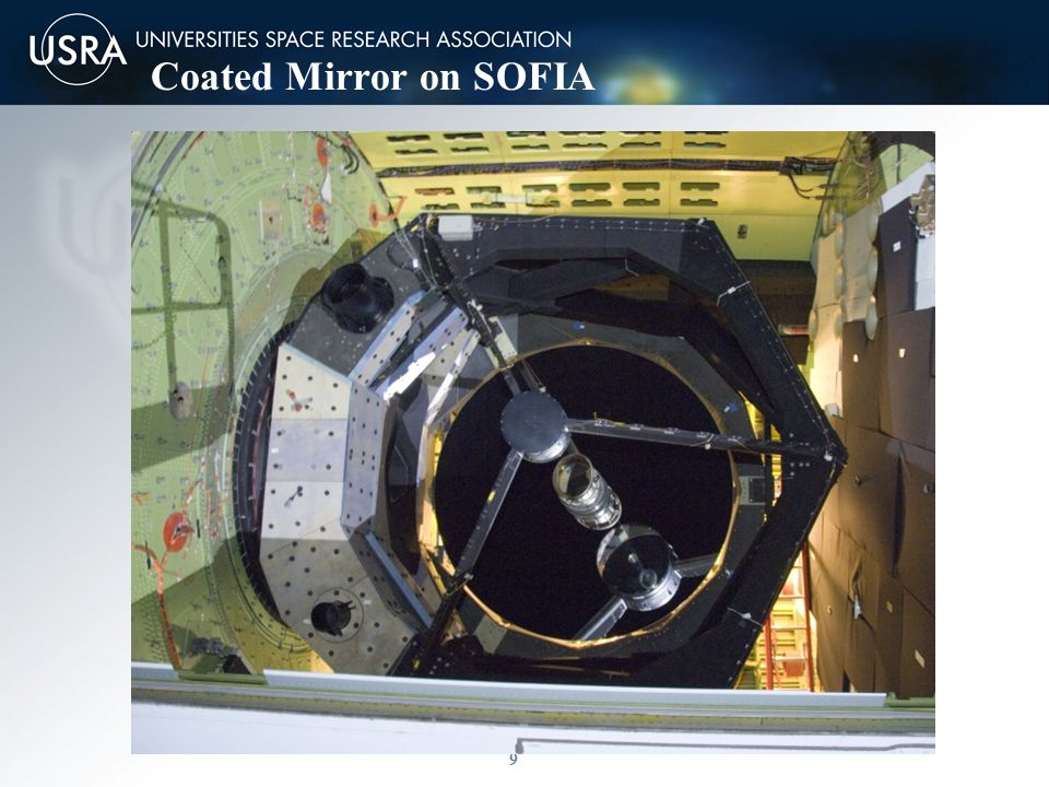 9 Page 9 Coated Mirror on SOFIA