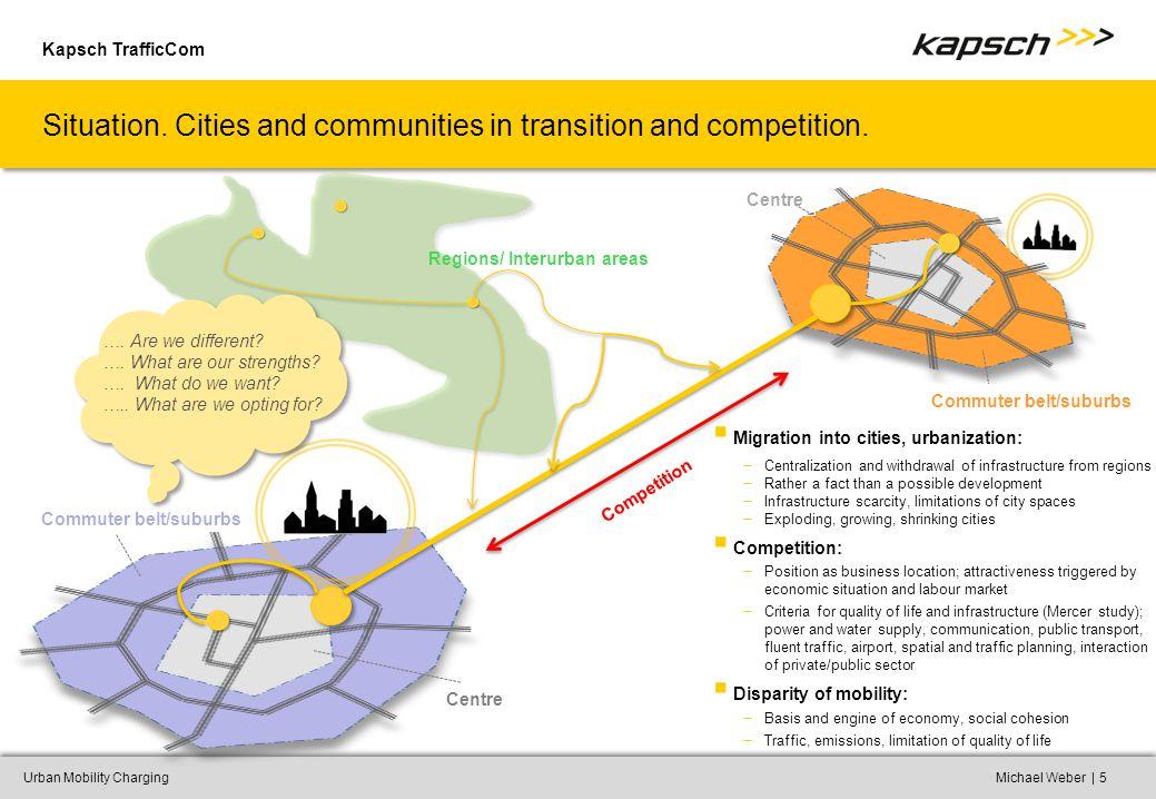 Kapsch TrafficCom |Urban Mobility ChargingMichael Weber5 Situation.