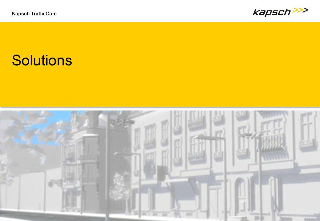 Kapsch TrafficCom Solutions