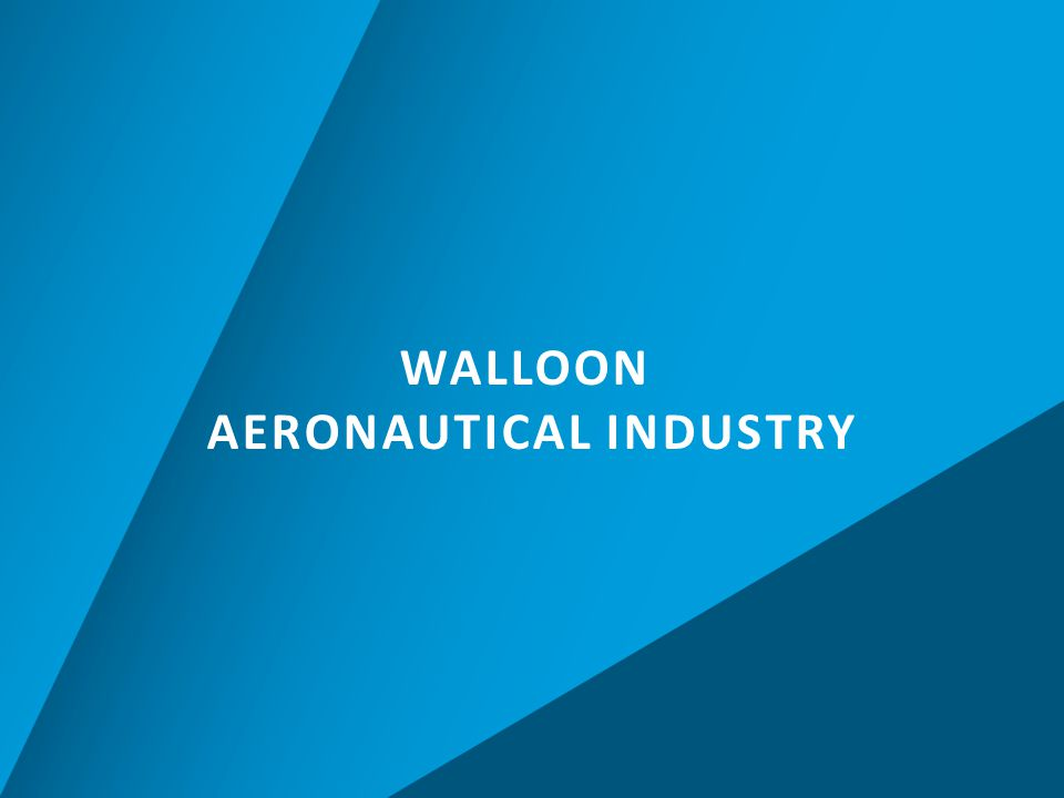 WALLOON AERONAUTICAL INDUSTRY