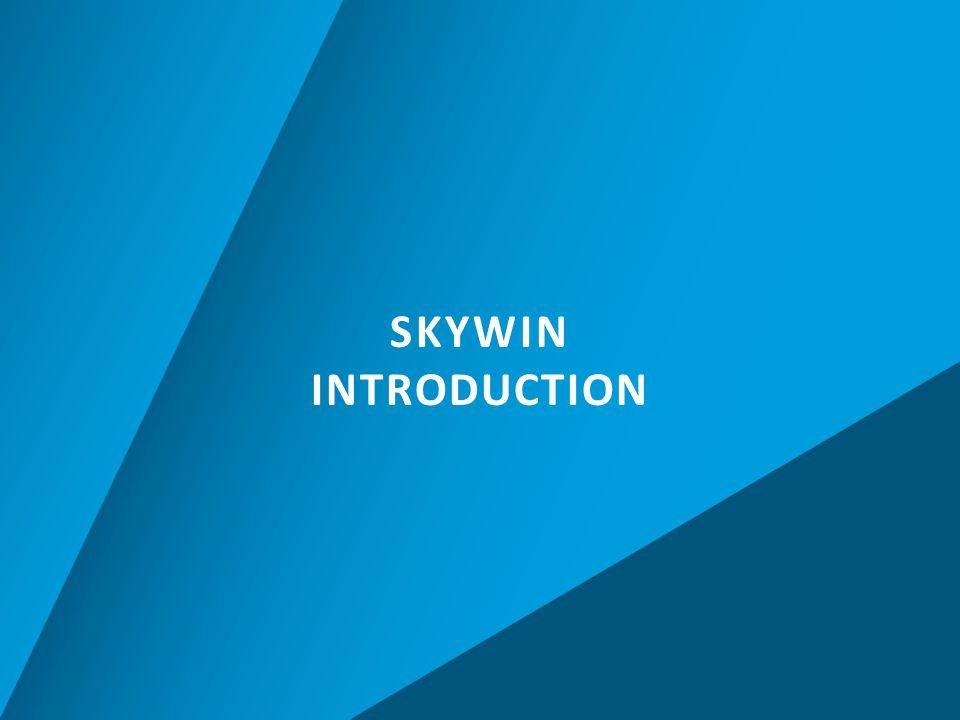 CONTACT POINTS E.POURBAIX Managing Director etienne.pourbaix @skywin.be R.