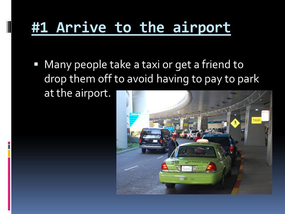 #12 Go through Customs (if it was an international flight)