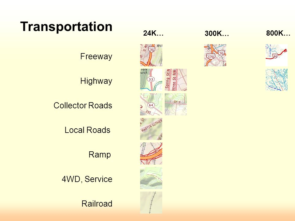 Collector Freeway Highway Local Ramp MCD bdry Incorp place bdry Use Symbol Levels to set merges or over-passing