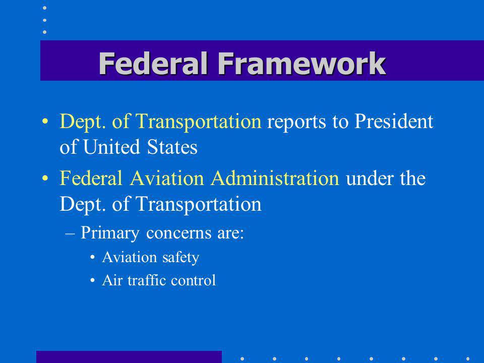Federal Framework Dept.
