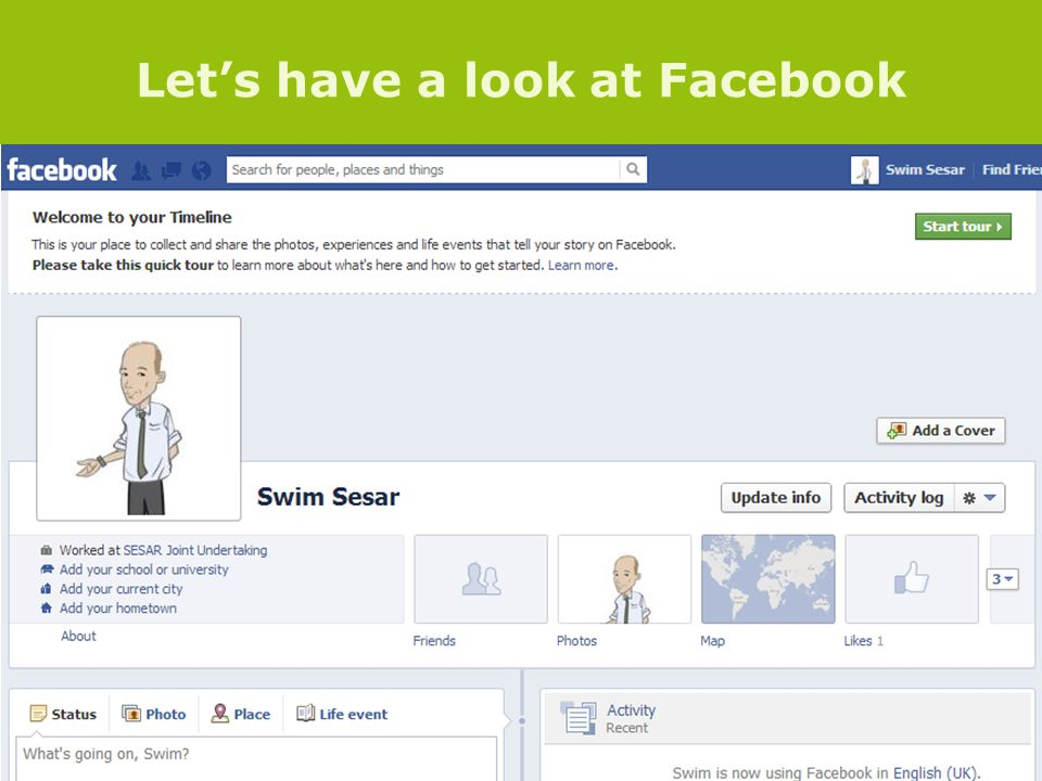 Lets have a look at Facebook