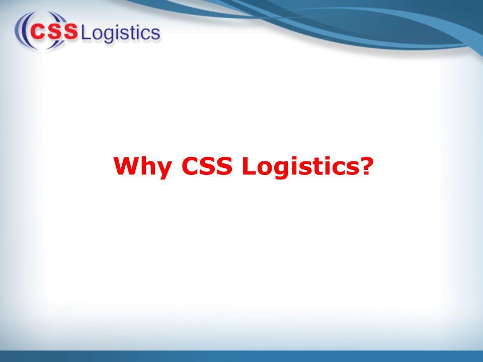 Why CSS Logistics?
