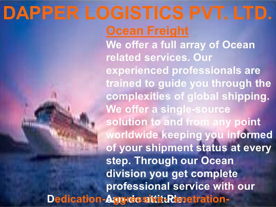 DAPPER LOGISTICS PVT.LTD.