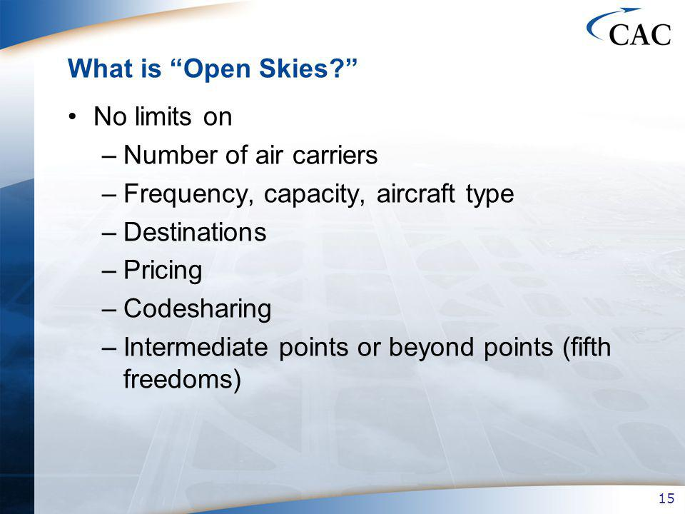 15 What is Open Skies.