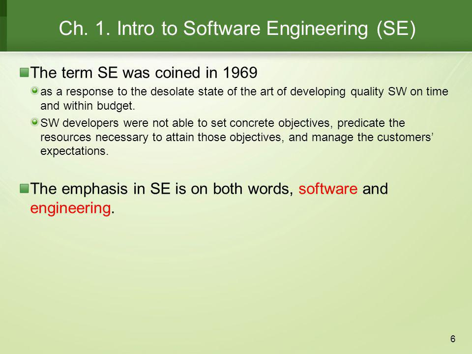1.1 Software (Engineering) Failures Year 1900 bug In 1992, Mary from Minnesota, received an invitation to attend a kindergarten.
