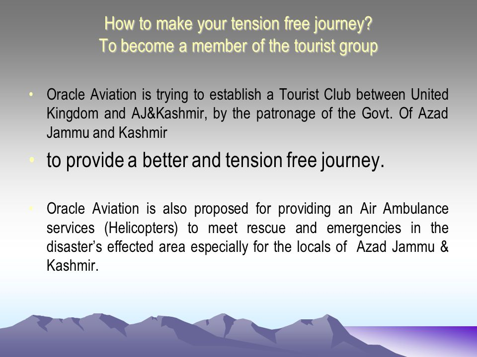 Facilitation to Members of the Tourist Club * Excess baggage up to:50 KGs * Above 70+ Years of Age: 25% Discount on Fare * Above 75+ Years of Age: 50% Discount on Fare * Above 80+ Years of Age: 100% Discount on Fare * Air Ambulance:FREE * Shifting of Dead Body:FREE * Transit Passengers: Dubai/Ras-al-Khaima 1 night/day stay in (5 star, option) hotel, sight seeing, shopping facilities: FREE
