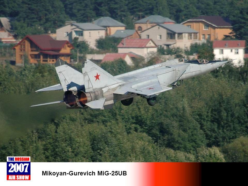 Mikoyan-Gurevich MiG-25UB
