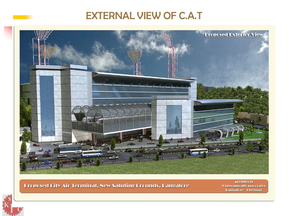 EXTERNAL VIEW OF C.A.T