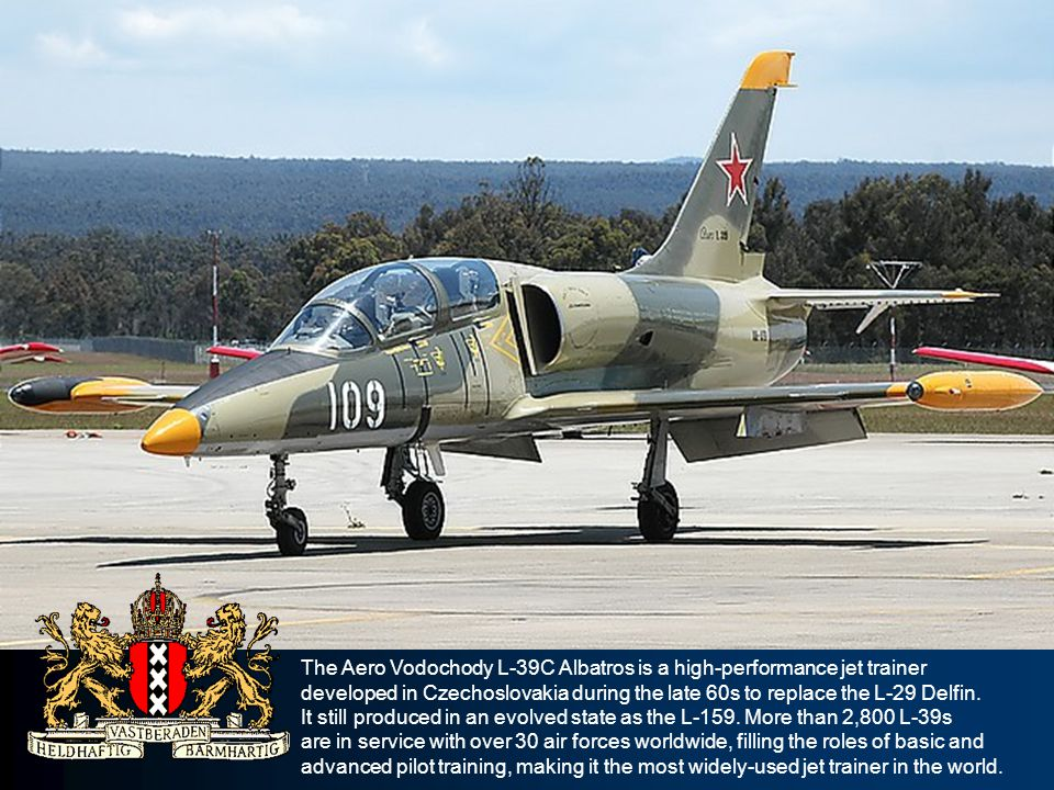 The Aero Vodochody L-39C Albatros is a high-performance jet trainer developed in Czechoslovakia during the late 60s to replace the L-29 Delfin. It sti