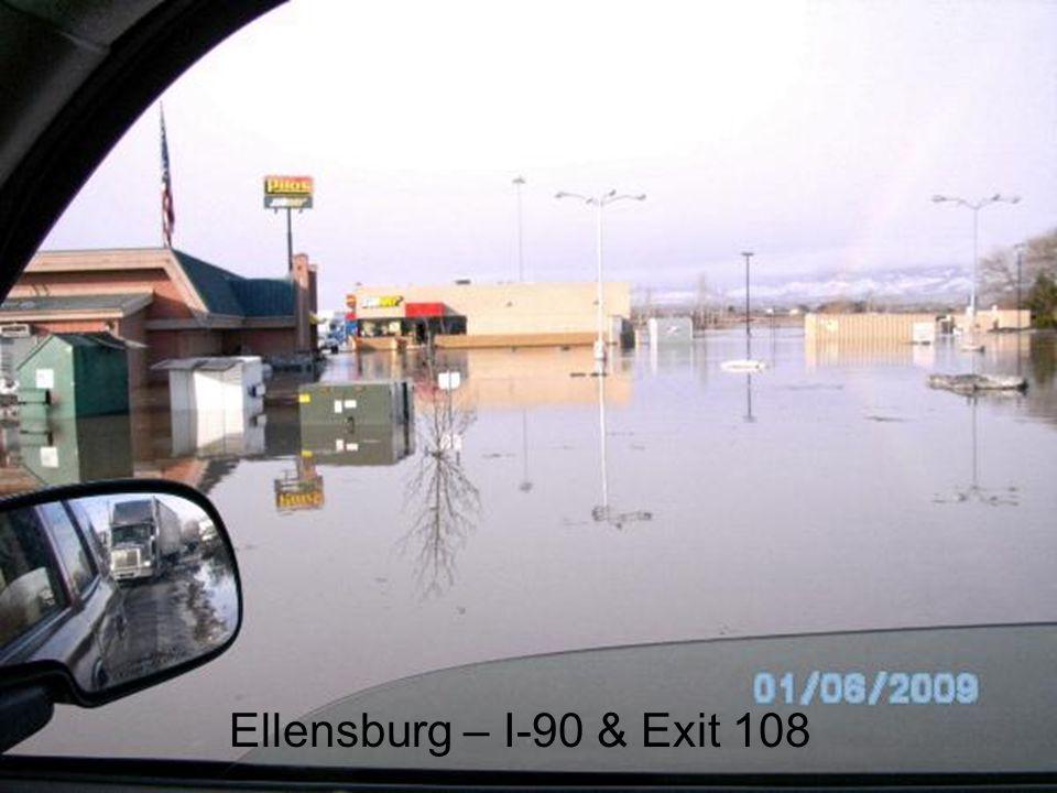 Ellensburg – I-90 & Exit 108