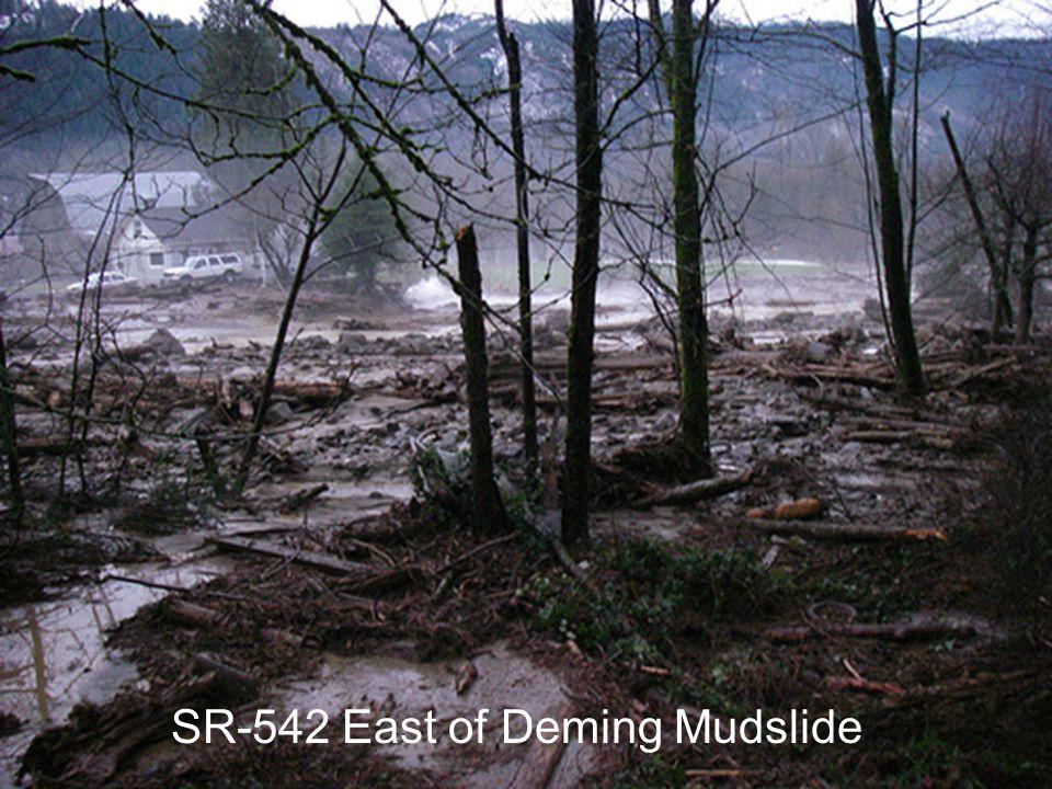 SR-542 East of Deming Mudslide