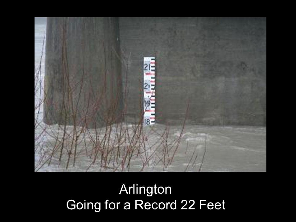 Arlington Going for a Record 22 Feet
