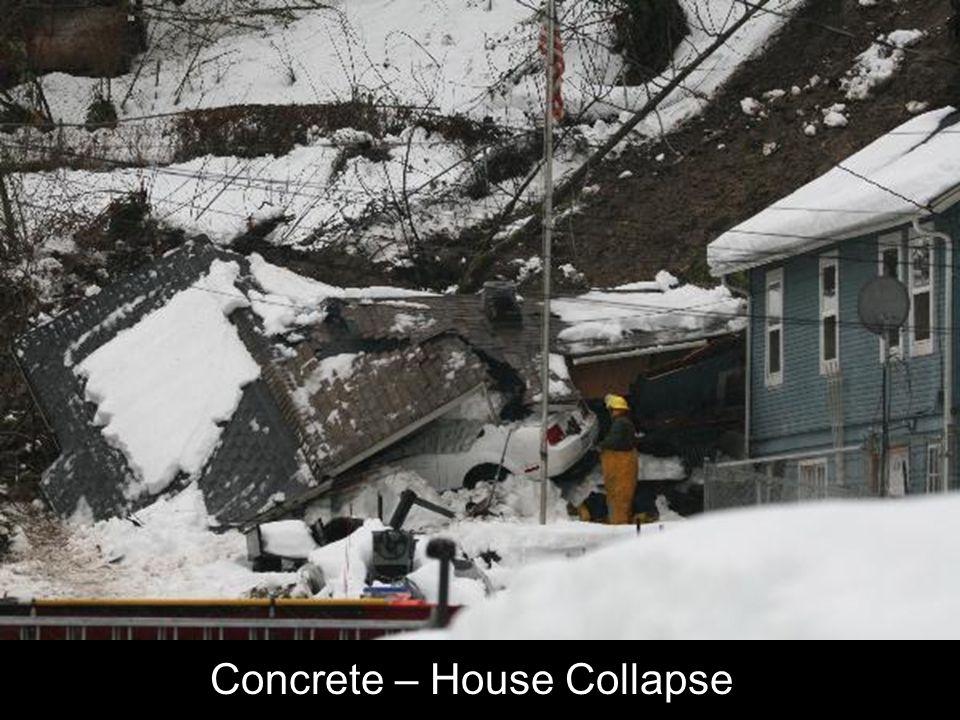 Concrete – House Collapse
