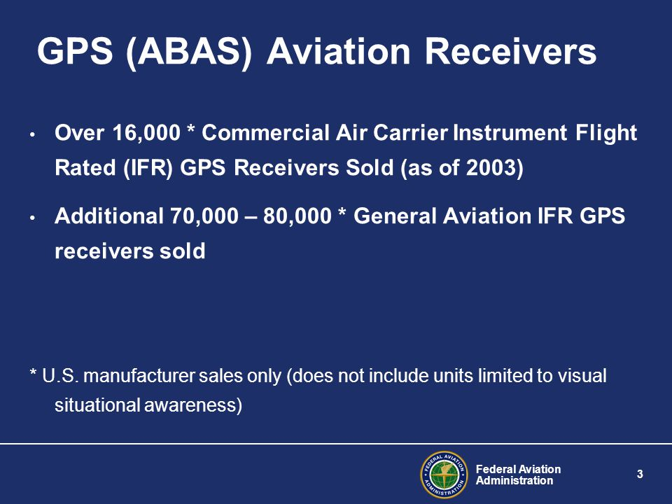 Federal Aviation Administration 4