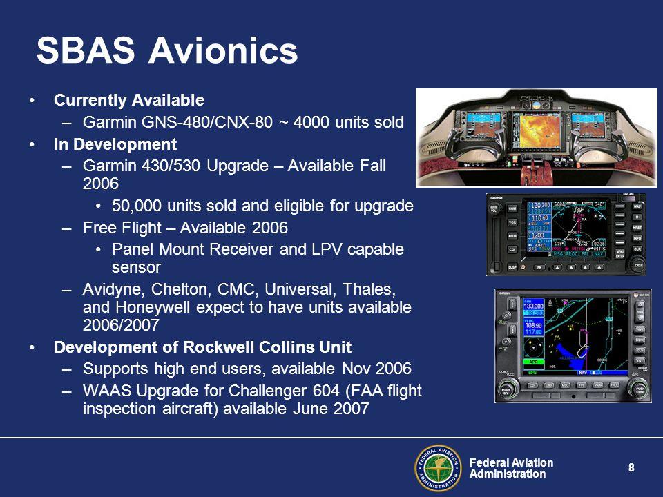 Federal Aviation Administration 9 Ground-Based Augmentation System (GBAS) U.S.