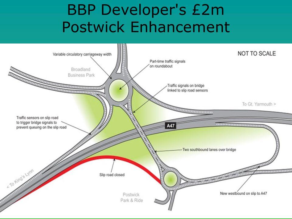 BBP Developer s £2m Postwick Enhancement