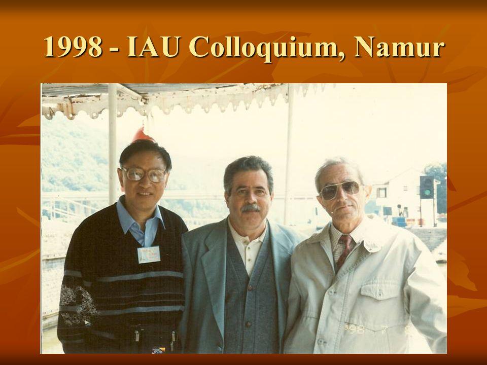 1998 - IAU Colloquium, Namur