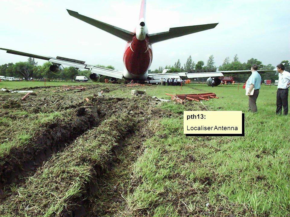 pth13: Fuselage damage due to ingress of NLG Assy.
