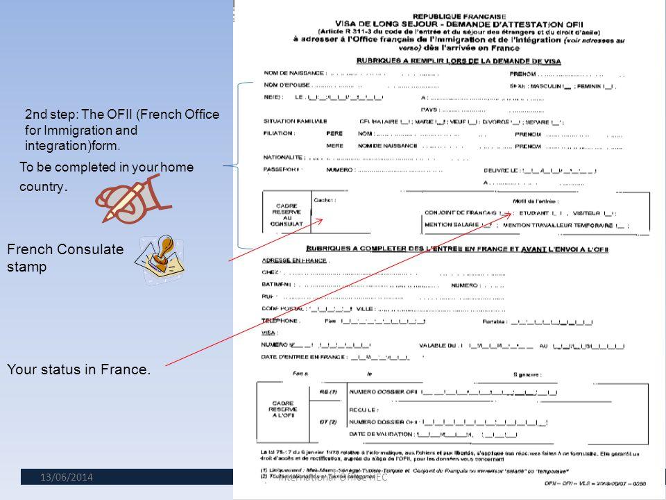 13/06/20145 1 st step : understanding your visa Validity start date.