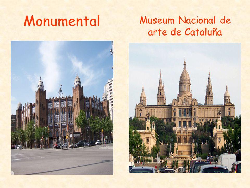 Museum Nacional de arte de Cataluña Monumental