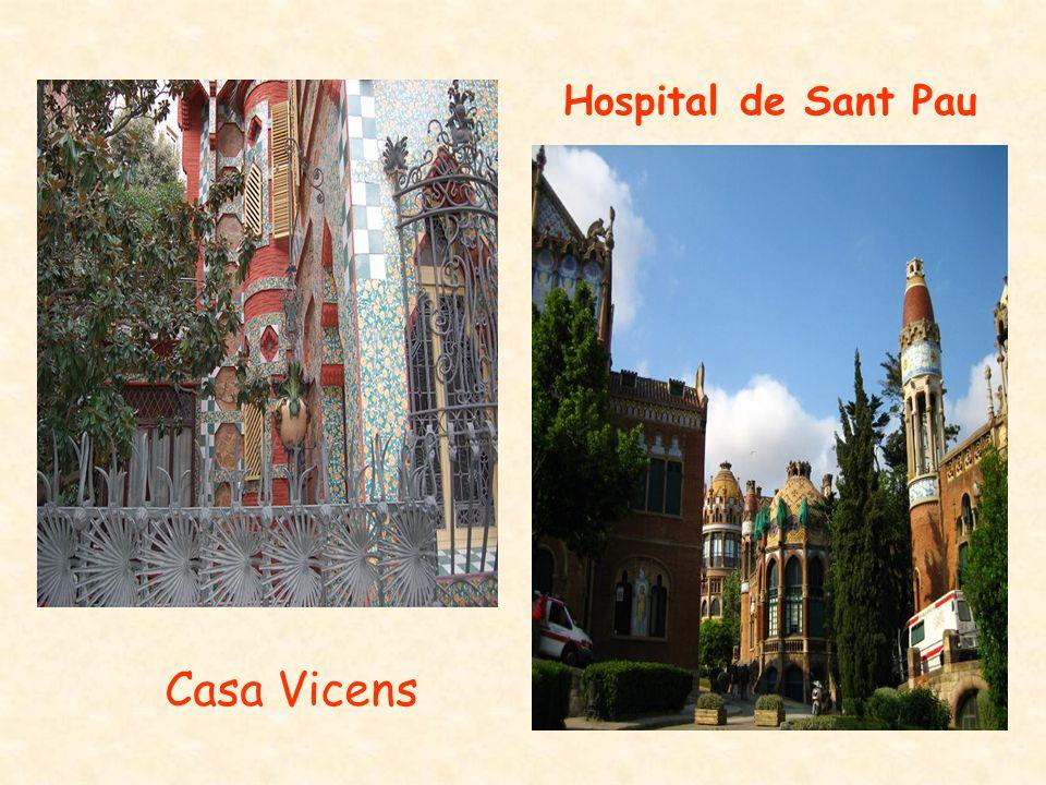 Hospital de Sant Pau Casa Vicens