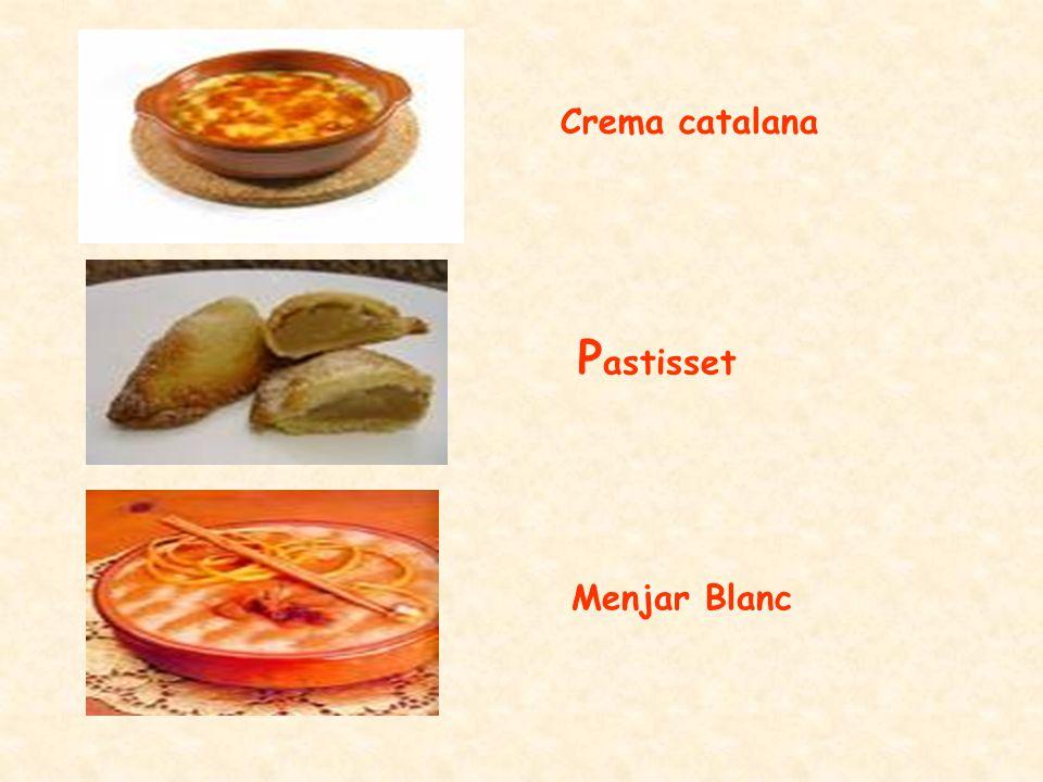 Crema catalana P astisset Menjar Blanc