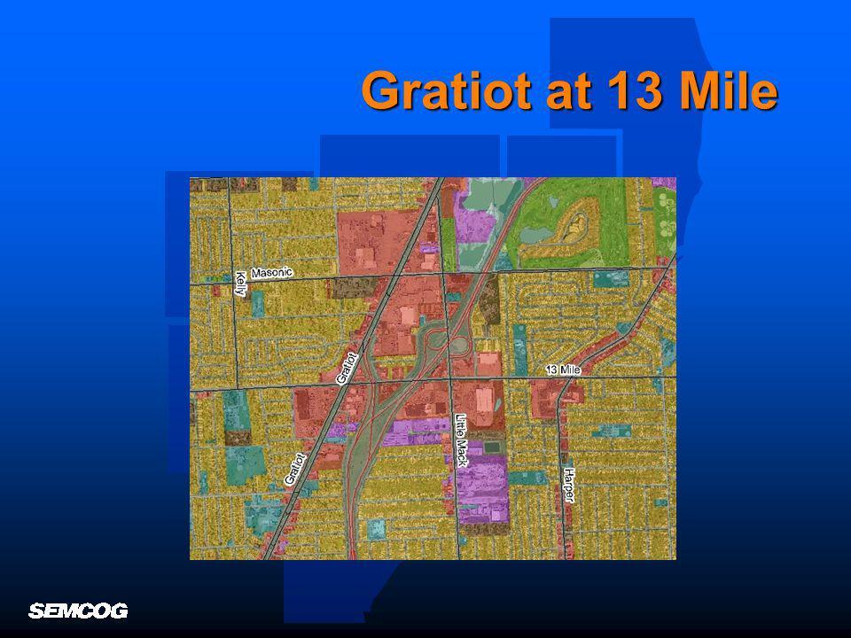 Gratiot at 13 Mile