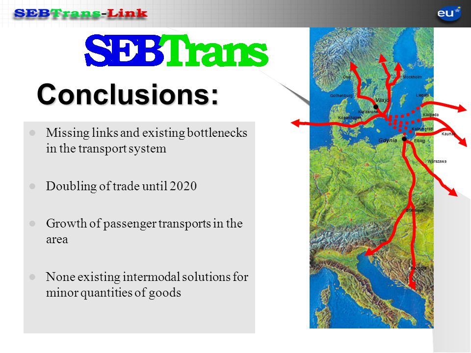 Trans European Network An important link missing !