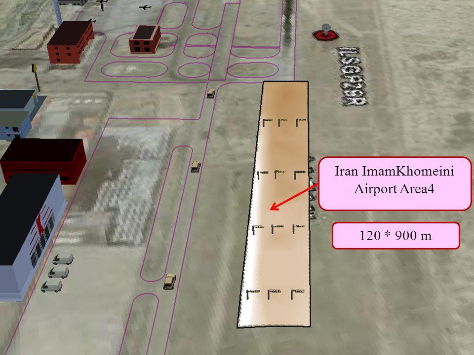Home Previous Next Help Iran ImamKhomeini Airport Area4 120 * 900 m
