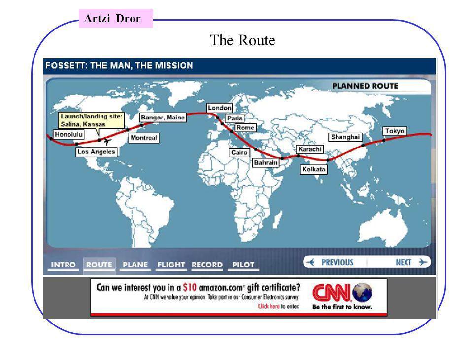 Artzi Dror The Route