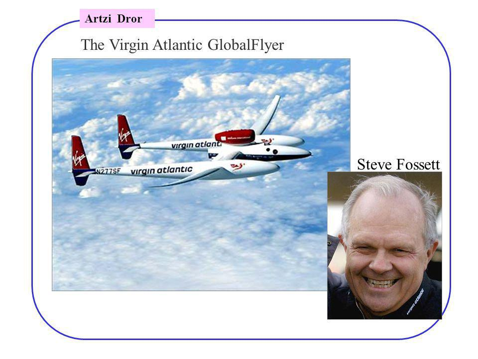 The Virgin Atlantic GlobalFlyer Steve Fossett