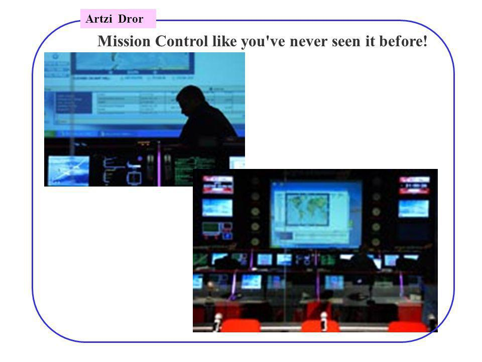 Mission Control like you ve never seen it before! Artzi Dror