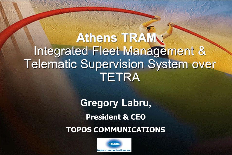 10781_03F9_c1 © 1999, Cisco Systems, Inc. Gregory Labru, President & CEO TOPOS COMMUNICATIONS Gregory Labru, President & CEO TOPOS COMMUNICATIONS