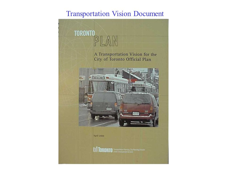 Transportation Vision Document