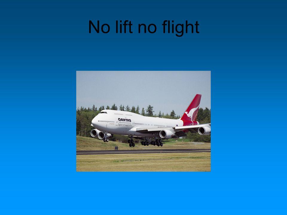 No lift no flight